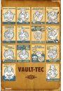 Fallout 4 Vault Tec Kompilacja - plakat
