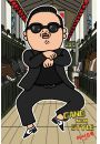 PSY - Gangnam Style - plakat