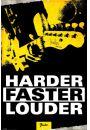 Fender - Mocniej, szybciej, g�o�niej - plakat - Hard AND Heavy