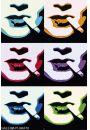 Smoke Popart - Palenie - plakat - Plakaty z kobietami