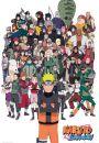 Naruto Shippuden Bohaterowie - plakat