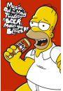 The Simpsons Muzyczny Homer - Piwo - plakat - Seriale