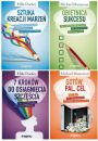 Zestaw 4 książek: Sztuka kreacji marzeń + Obietnica sukcesu + 7 kroków do osiągnięcia szczęścia + Gotów, pal, cel - Motywacyjne