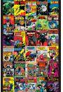 DC Comics Batman - Okładki Komiksów - retro plakat - Animowane