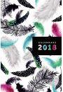 Kalendarz 2018 Narcissus Gee Pióra