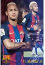 FC Barcelona Neymar Kolaż - plakat - Plakaty. Hobby