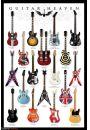 Gitary - Guitar Heaven - plakat - Rock