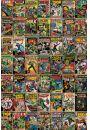 Marvel - Okładki Komiksów - plakat