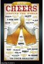 Piwo - Na Zdrowie w R�nych J�zykach - plakat - Kulinaria