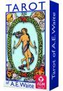 Rider A.E. Waite Tarot Standard, Edycja Niebieska - Tarot Ezoteryczny